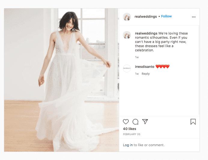 Real Weddings on trend wedding dress no link in bio