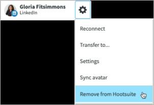 Account aus Hootsuite entfernen