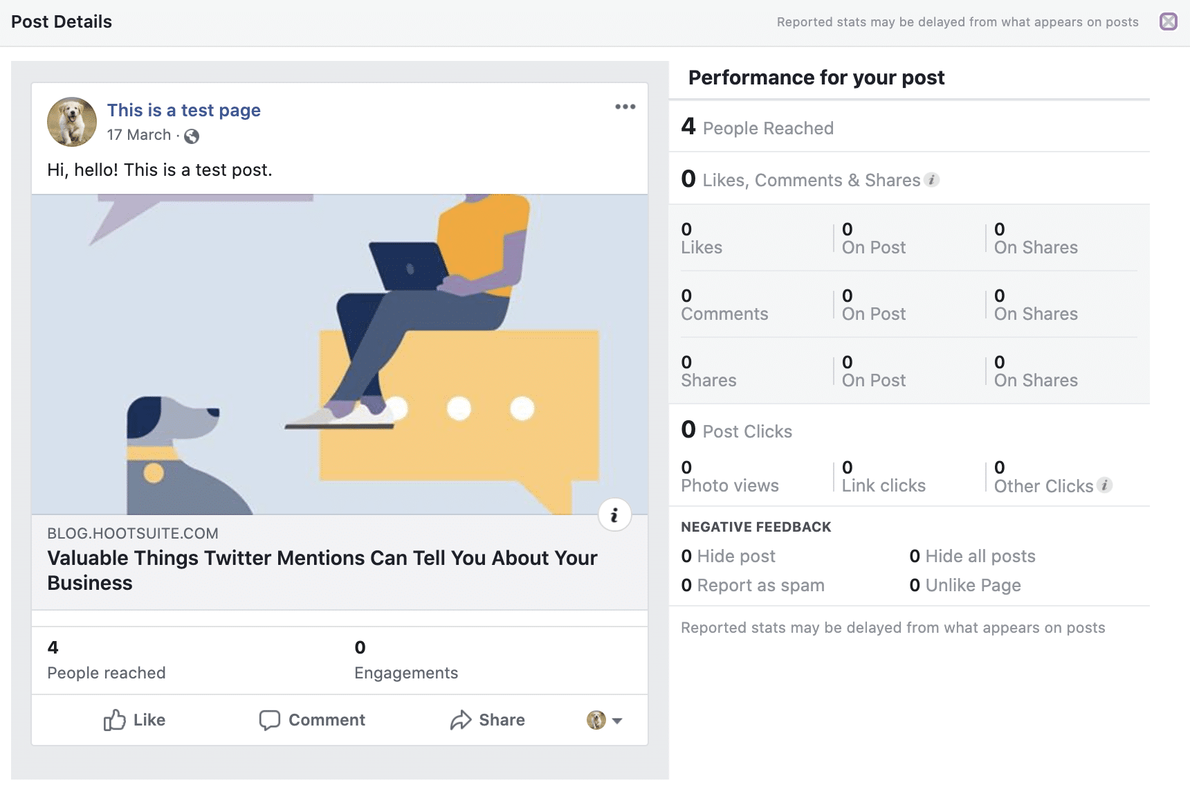 post details performance