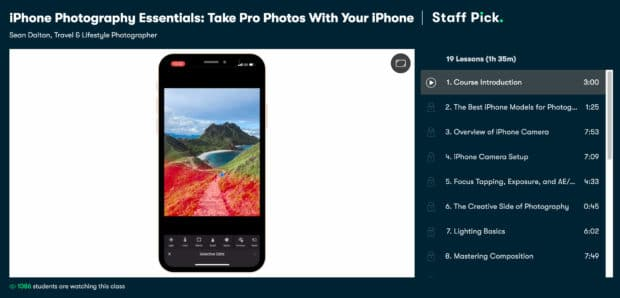 iPhone Photography Essentials by Skillshare