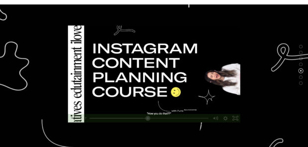 Instagram content planning from ilovecreatives