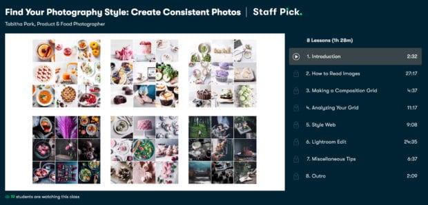 Find your photography style from Skillshare