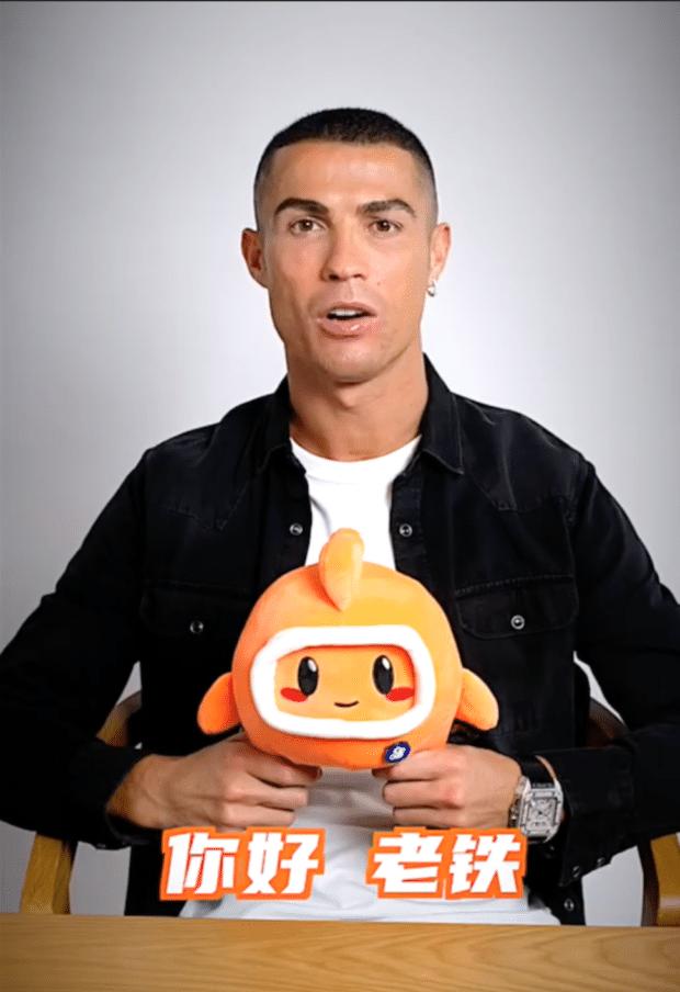 Cristiano Ronaldo livestream