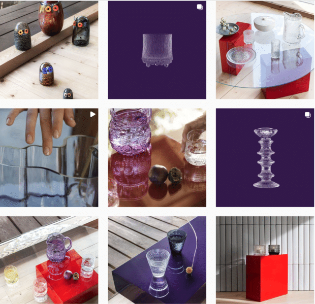 Iittala glass design