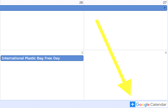 Instructions on adding social media holiday calendar to Google account 1