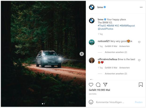 """BMW stellt ein neues Modell vor: """"Your happy place"""" – der Ort, wo Sie glücklich sind"""