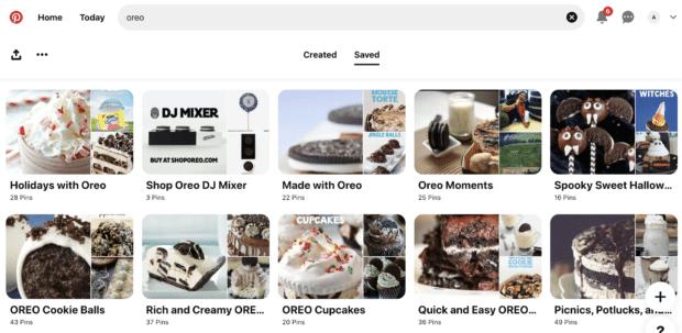 Oreos Pinterest Board seasonal pins and recipe ideas