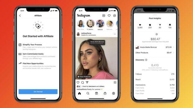 Instagram affiliates tools