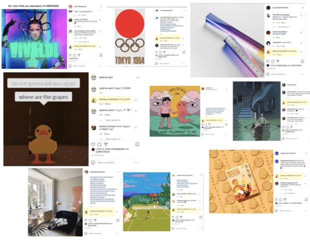 Belle publication! commenter diverses publications Instagram