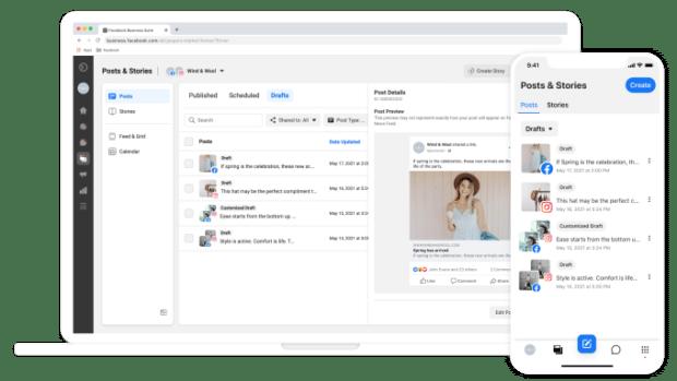 Facebook Business Suite Inbox