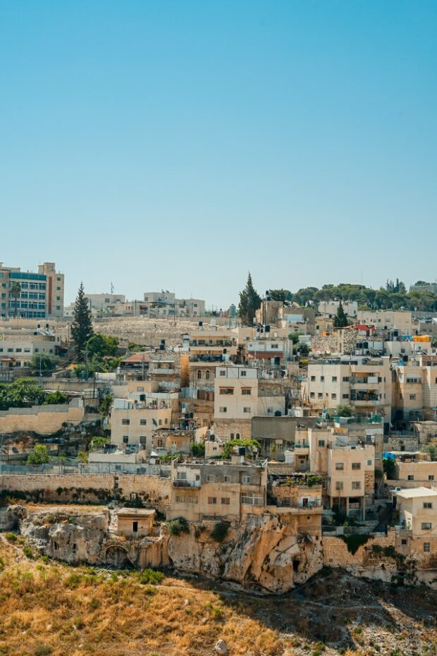 group of buildings situated near Bethlehem