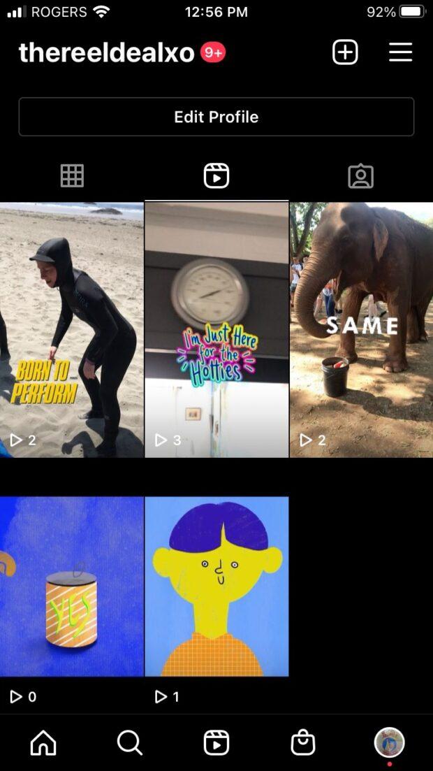 Instagram Reels views