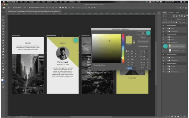 edit color block