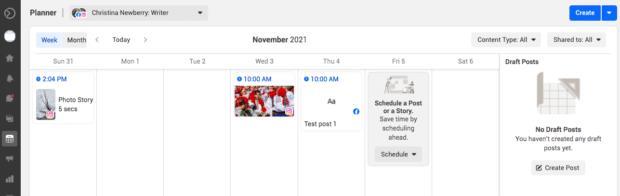 planner calendar view