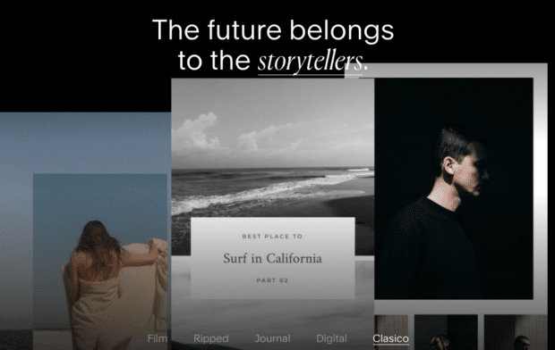 Unfold Story templates
