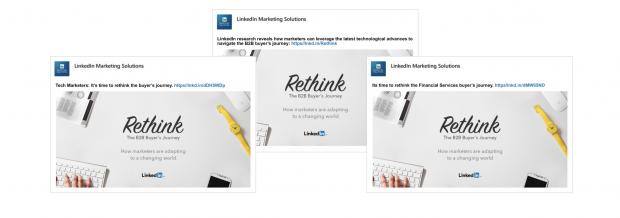 Personalisierte Anzeigen auf LinkedIn zahlen sich aus.