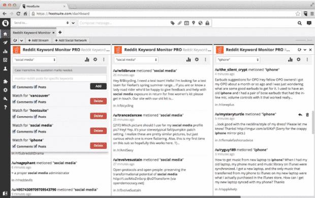 Reddit Keyword Monitor tool