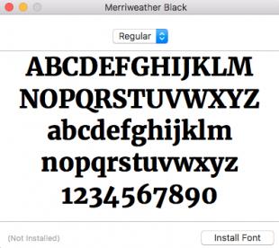 Descargar las tipografías para usar las plantillas para Historias de Instagram