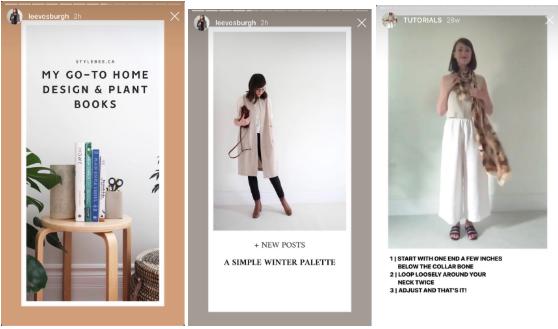 Plantillas para Historias de Instagram de Lee Vosburgh