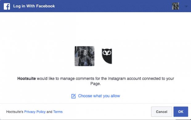 Confirmer sur Facebook
