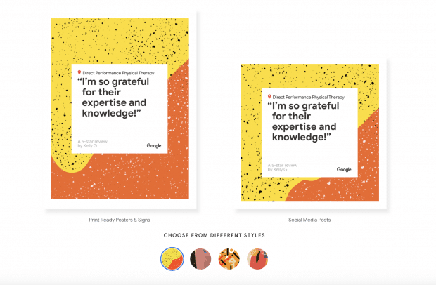 Google Marketing-Kit für Kundenbewertungen