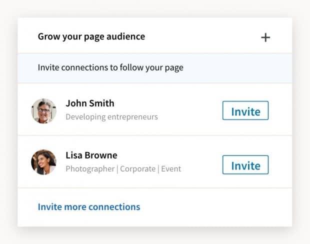 Invitar a conexiones de LinkedIn