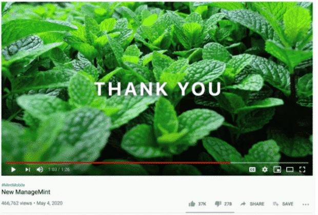 MintMobile-Werbung auf YouTube
